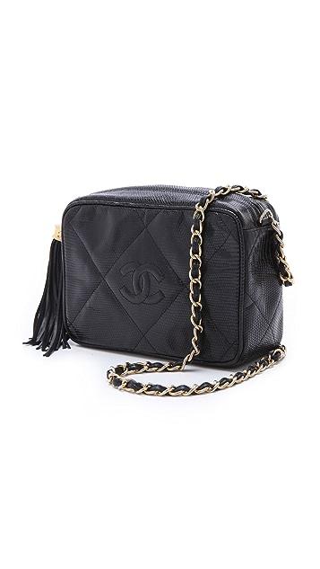 WGACA Vintage Vintage Chanel Lizard Bag