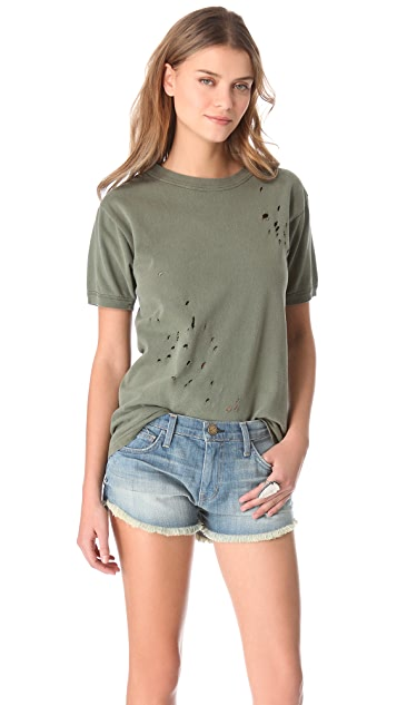 WGACA Vintage Army Distressed Tee