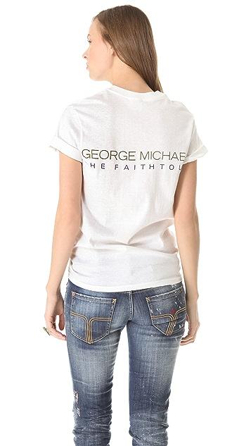 WGACA Vintage George Michael Vintage Tee