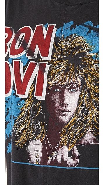 WGACA Vintage Bon Jovi 80's Vintage Tee