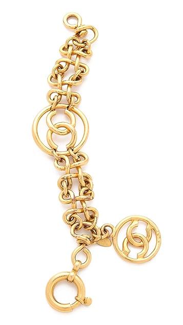 WGACA Vintage Vintage Chanel CC Bracelet