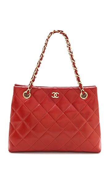 WGACA Vintage Vintage Chanel Quilted Bag