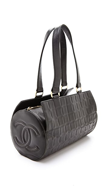 WGACA Vintage Vintage Chanel Barrel Bag