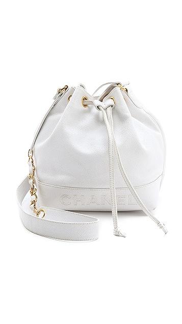 43403b567e2573 WGACA Vintage Vintage Chanel Caviar Bucket Bag | SHOPBOP