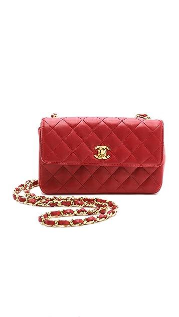 WGACA Vintage Vintage Chanel Mini Quilted Bag