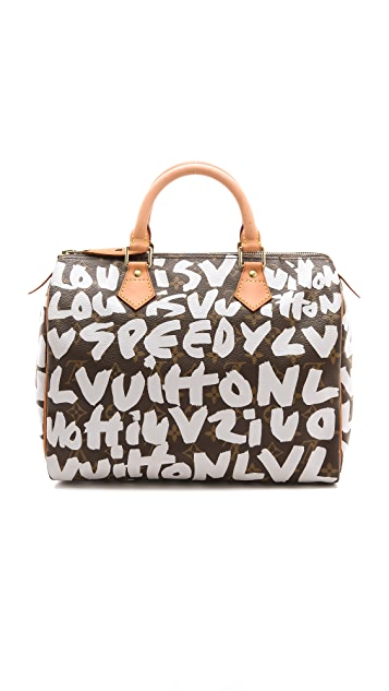 b54de9dc0325 WGACA Vintage Vintage Louis Vuitton Sprouse Graffiti Speedy 30 Bag ...