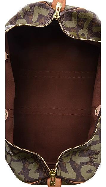 WGACA Vintage Vintage Louis Vuitton Sprouse Keepall