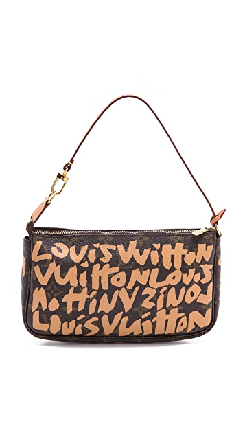 WGACA Vintage Vintage Louis Vuitton Sprouse Pouchette