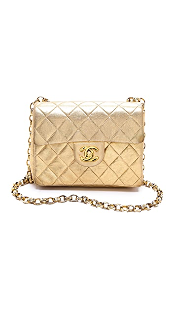 WGACA Vintage Vintage Chanel Mini Flap Bag