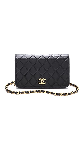 8e32e4a2cbab6 WGACA Vintage Vintage Chanel Mini Full Flap Bag