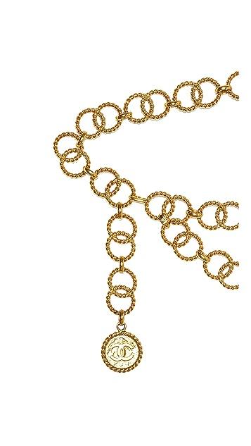 WGACA Vintage Vintage Chanel Rope Links Belt