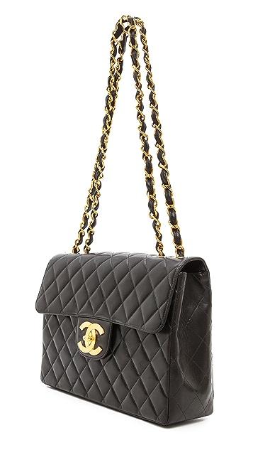 WGACA Vintage Vintage Chanel 2.55 Jumbo Bag