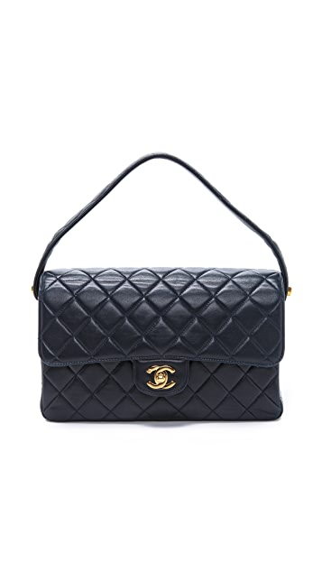 WGACA Vintage Vintage Chanel Double Flap Bag