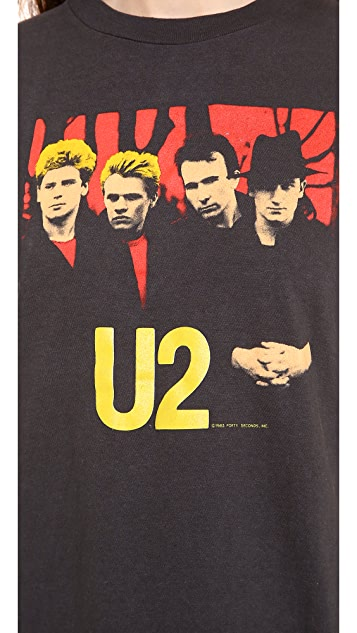 WGACA Vintage U2 Concert Tee