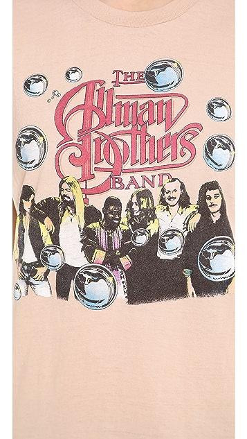 WGACA Vintage Allman Brothers Concert Tee
