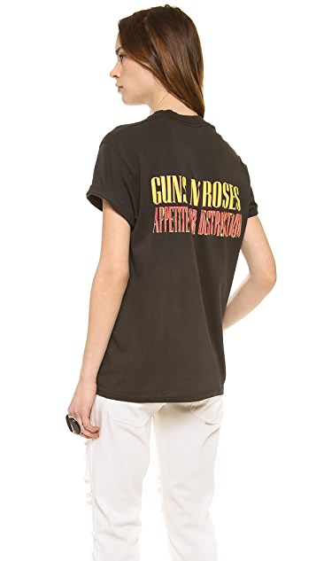 WGACA Vintage Guns N Roses 88 Rare Graphic Tee