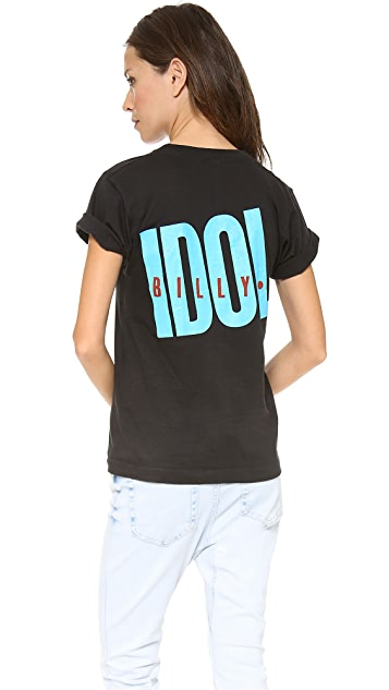 WGACA Vintage Billy Idol Tee