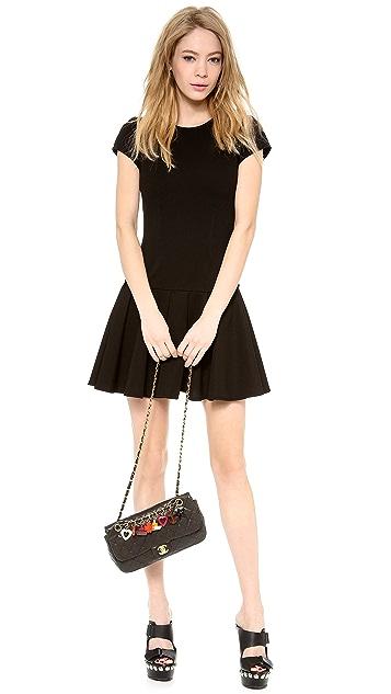 WGACA Vintage Vintage Chanel Black Quilted Charm Bag