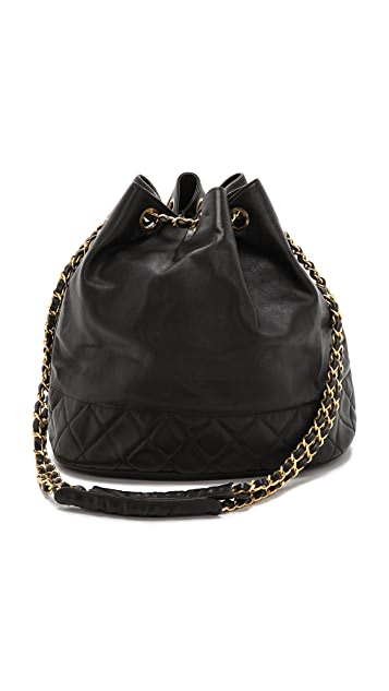 WGACA Vintage Vintage Chanel Bucket Bag