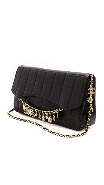 WGACA Vintage Vintage Chanel Charms Bag