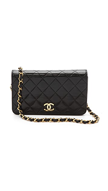 7ab497611ac9 WGACA Vintage Vintage Chanel Flap Cross Body Bag