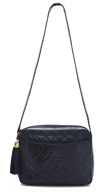 WGACA Vintage Vintage Chanel Extra Large Camera Bag