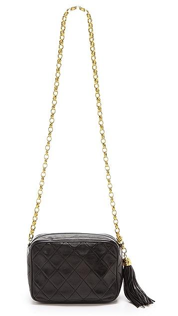 What Goes Around Comes Around Chanel Tassel Camera Bag