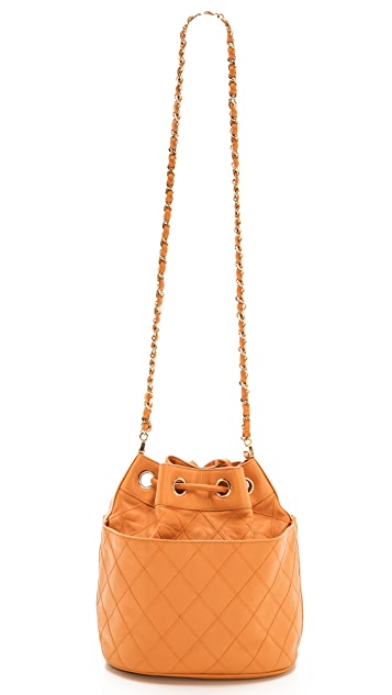 What Goes Around Comes Around Chanel Bucket Bag