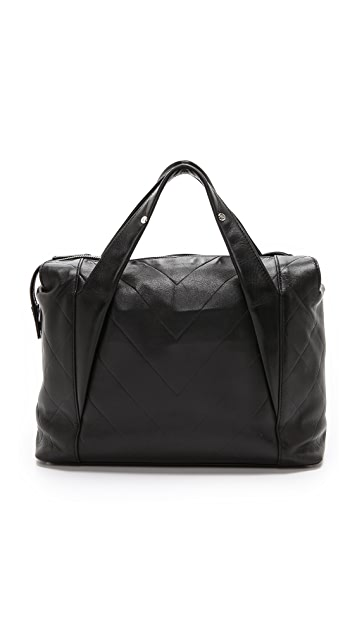 What Goes Around Comes Around Chanel Black CC Tote