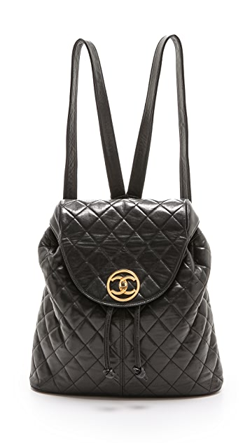 What Goes Around Comes Around Chanel Quilted Backpack
