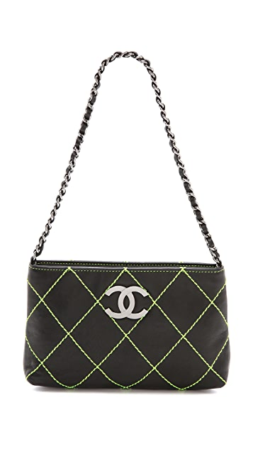 What Goes Around Comes Around Chanel Quilted Stitch Bag