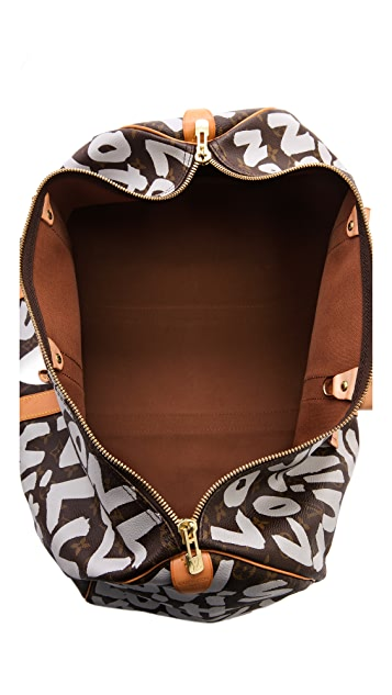 What Goes Around Comes Around Louis Vuitton Monogram Sprouse Keep All Bag