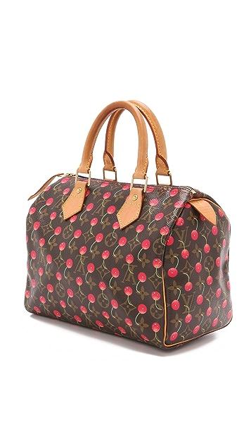 What Goes Around Comes Around Vintage LV Cherry Speedy Bag