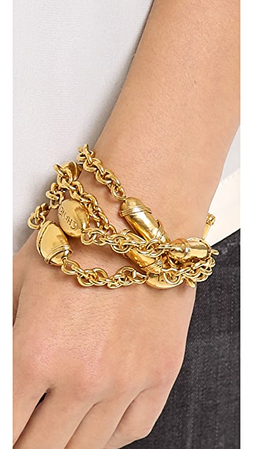 What Goes Around Comes Around Vintage Chanel Buoys Bracelet