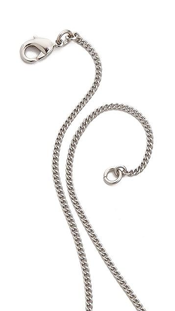 What Goes Around Comes Around Vintage Chanel Rhinestone CC Necklace