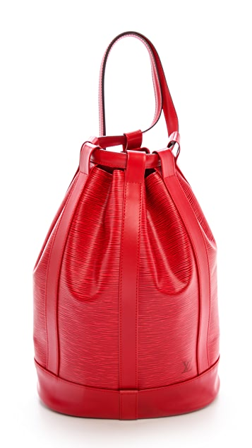 What Goes Around Comes Around Louis Vuitton Epi Randonne Bag