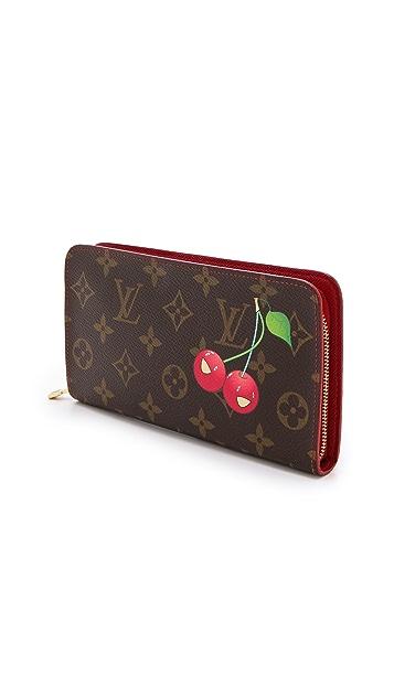 What Goes Around Comes Around Louis Vuitton Monogram Cerises Wallet