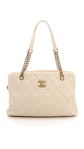 What Goes Around Comes Around Chanel Quilted Shoulder Bag