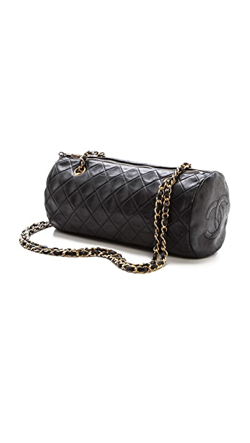 2b4e1d635dd1 ... What Goes Around Comes Around Chanel Barrel Bag ...