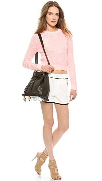 What Goes Around Comes Around Chanel Bucket Satchel
