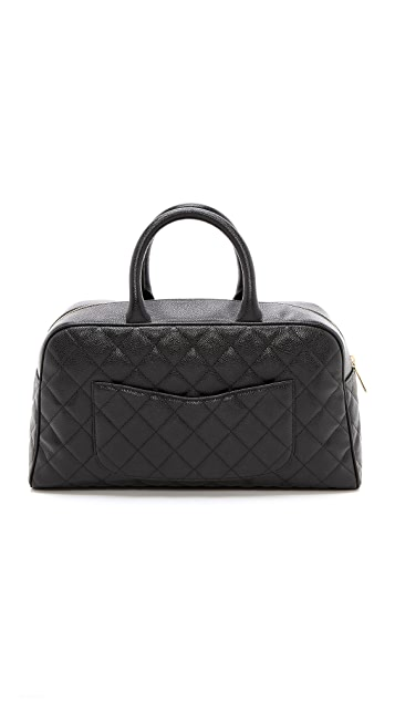What Goes Around Comes Around Chanel Caviar Duffel Bag