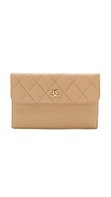 What Goes Around Comes Around Chanel Flap Slip Wallet