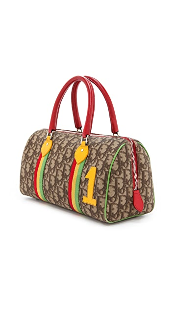 What Goes Around Comes Around Dior Rasta Boston Bag