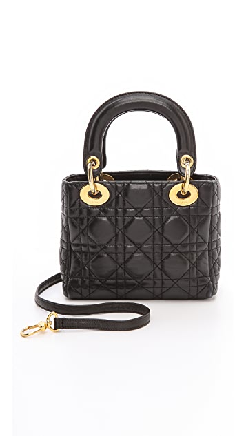 What Goes Around Comes Around Dior Lady Dior Mini Bag  638a7eaaa0c08