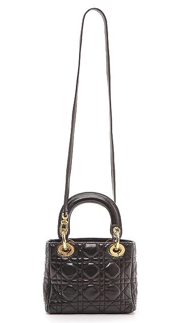 bf43514b5d2e ... What Goes Around Comes Around Dior Lady Dior Mini Bag ...