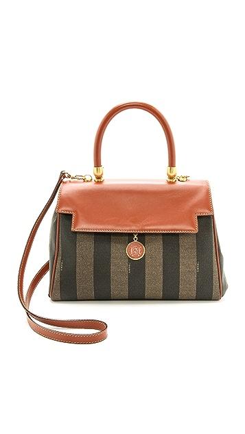 What Goes Around Comes Around Fendi Striped Bag