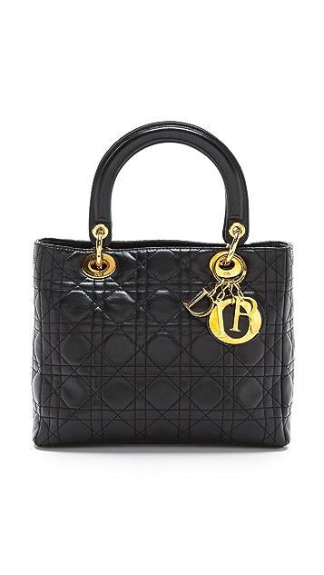 What Goes Around Comes Around Dior Medium Lady Bag
