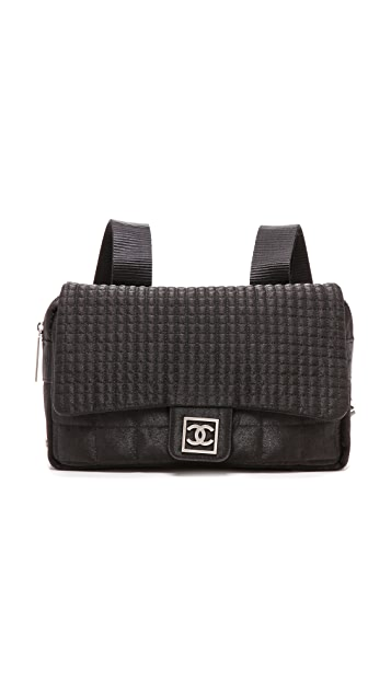 What Goes Around Comes Around Chanel Nylon Backpack