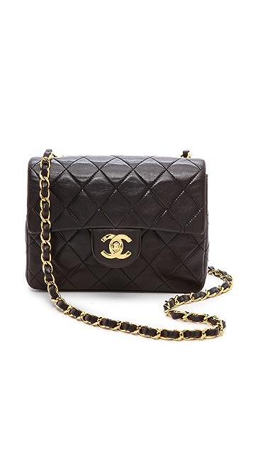 ecf939f6da2f98 What Goes Around Comes Around Chanel Half Flap Mini Bag | SHOPBOP