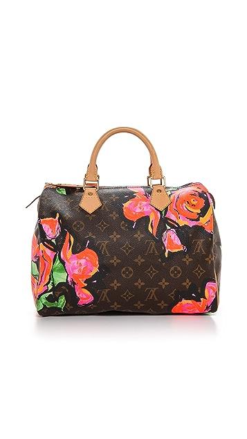 1d90df354c0d What Goes Around Comes Around Louis Vuitton Roses Speedy Satchel ...
